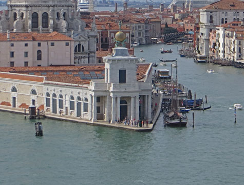 Arts Centre at the Customs House, Venice Italy