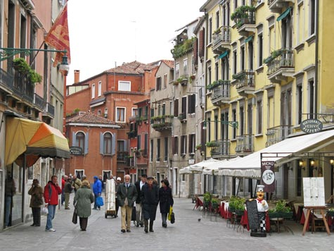 Cannaregio District of Venice Italy
