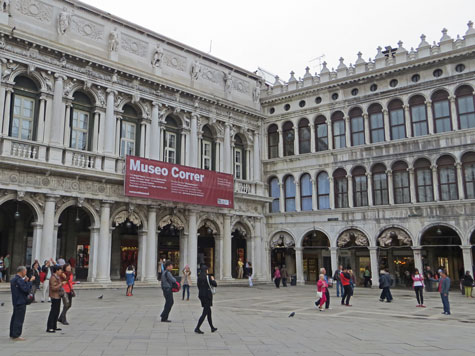 Correr Museum in Venice Italy