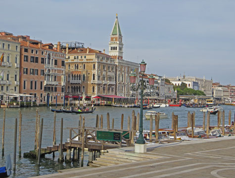 Grand Canal in Venice Italy (Canal Grande)