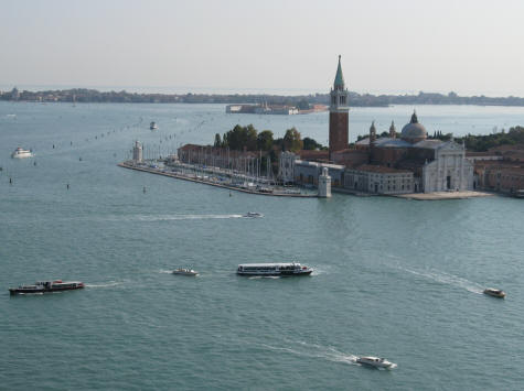 Boat Service to Venice's Marco Polo Airport