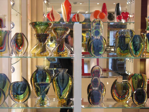 Murano Glass produced on Murano Island