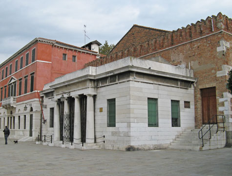 Naval History Museum in Venice Italy
