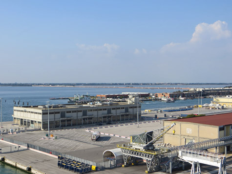 Causeway to the Italian Mainland