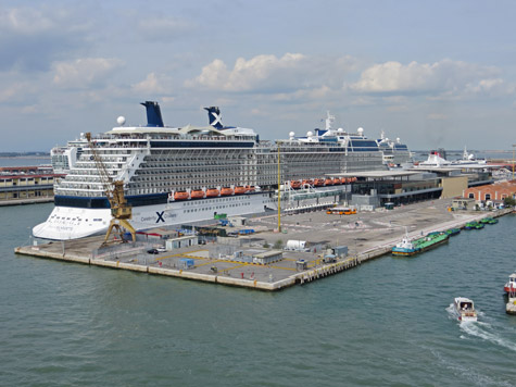Cruise Ship Terminal In Venice Italy - Cruise ships in venice port